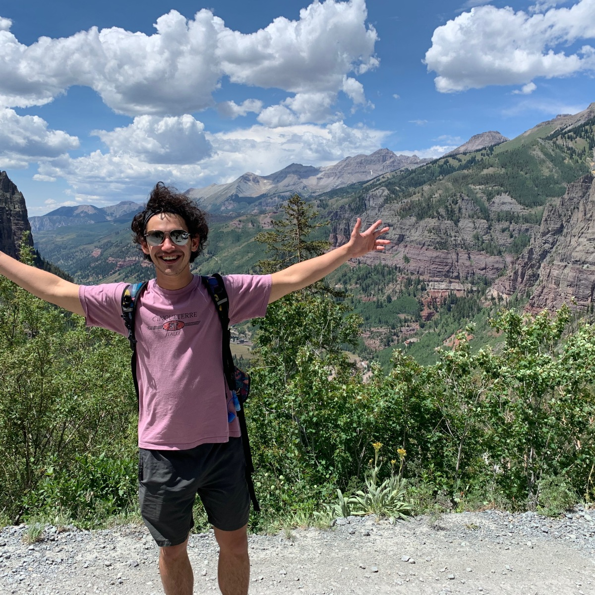 Picture of Jonah Baer in Telluride, CO
